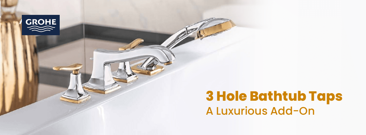 Axor 3-Hole-Bathtub Taps at xTWO