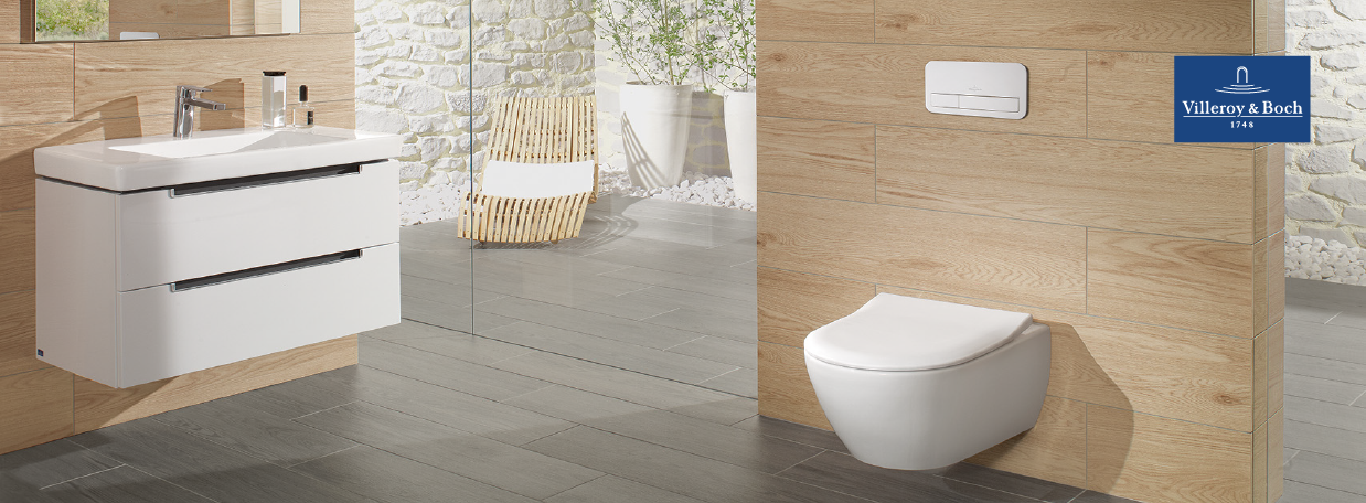 Villeroy&Boch Wall-Mounted Toilets at xTWO
