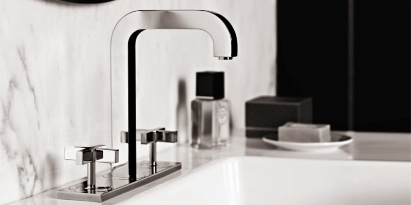 Axor Citterio 3-Hole Basin Taps at xTWOstore
