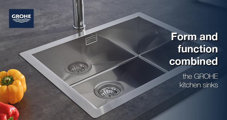Grohe kitchen sinks